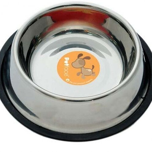 Petface Stainless Steel Non Slip Dog Bowl