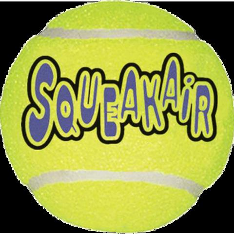 Kong Air Squeaker Tennis Ball -  Single