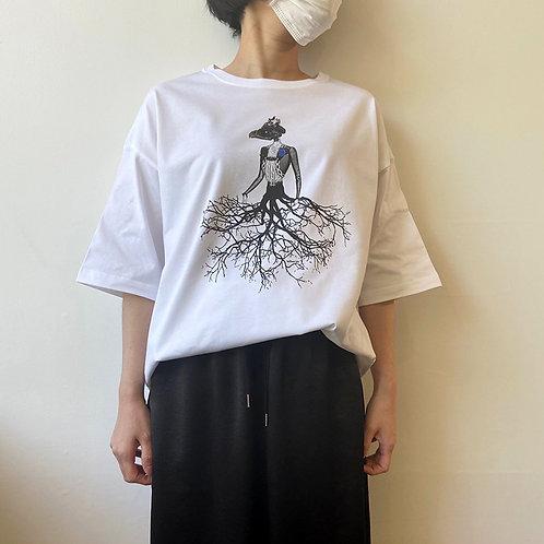 鳥骸頭枝婦人(ビッグシルエット)