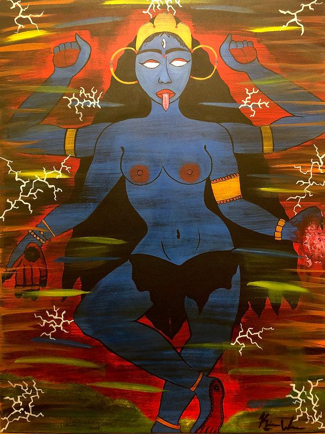 Kali, conquer me!