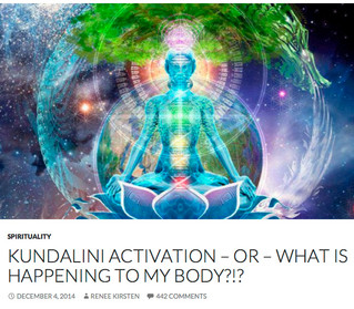 Losing the plot? No I was having a kundalini activation!