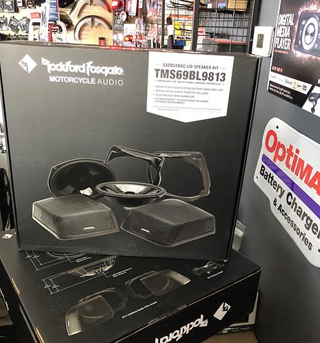 Rockford Fosgate Power Harley-Davidson® Saddlebag Audio Kit (1998-2013)