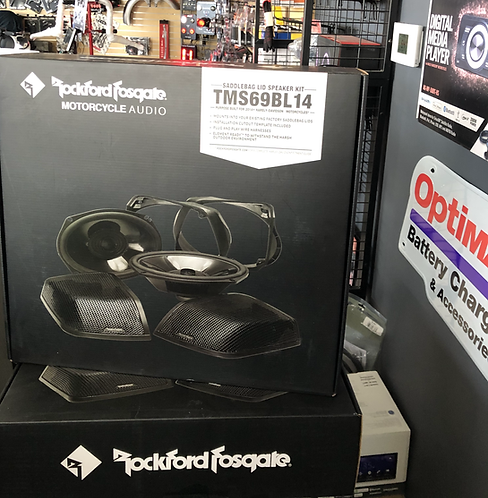 Rockford Fosgate Power Harley-Davidson® Saddlebag Audio Kit (2014+)