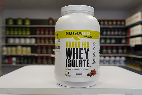 NutraBio Grass-Fed Whey Isolate