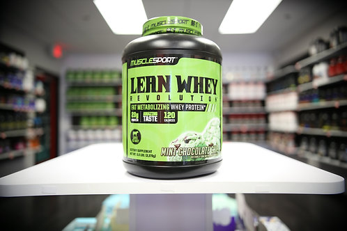 MuscleSport Lean Whey 5LB
