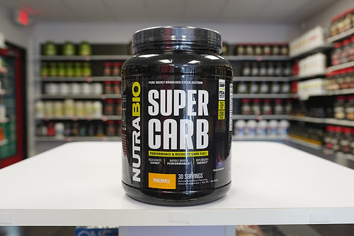 Nutrabio SuperCarb