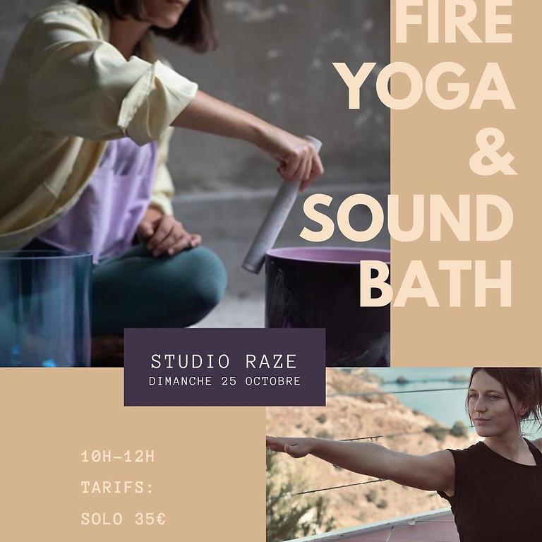 ATELIER Fire Yoga & Sound Baths
