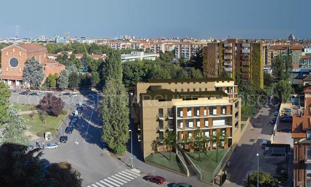 01 EDIFICIO RESIDENZIALE, Piazza Esquilino, Milano