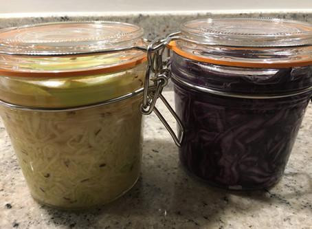 Fermented foods for your gut garden!