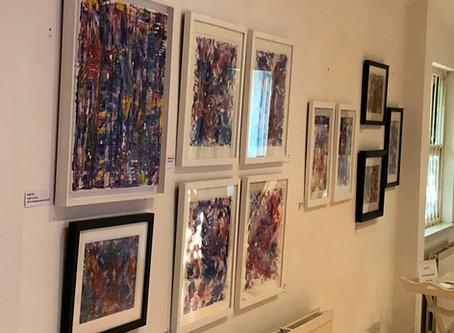 My debut exhibition!