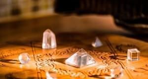 crystals ina grid