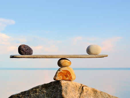 We all need balance.