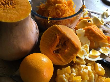 Squash and Orange Cake