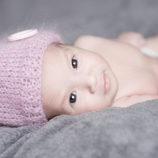 Baby Mütze rosa