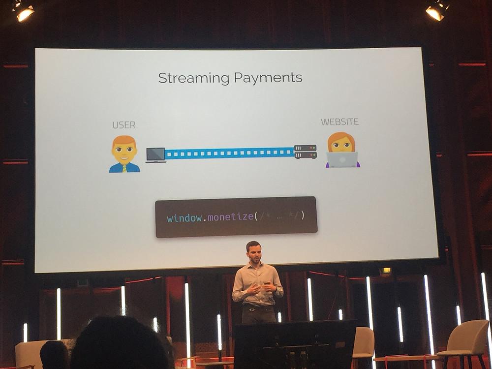 Streaming Payments sollen automatisiert im Hintergrund ablaufen. Alle Rechte an dem abgebildeten Material liegen bei https://interledger.org