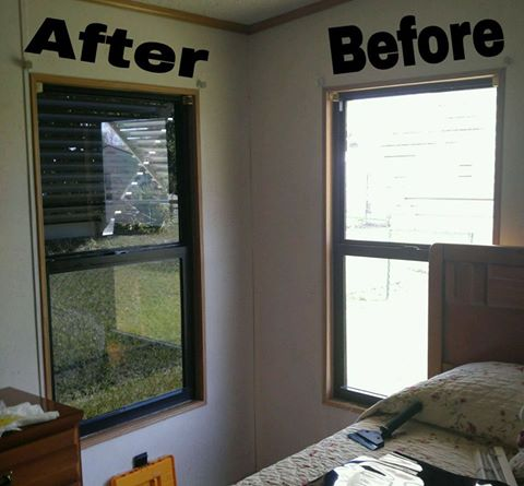 Before & After Architectural Tint