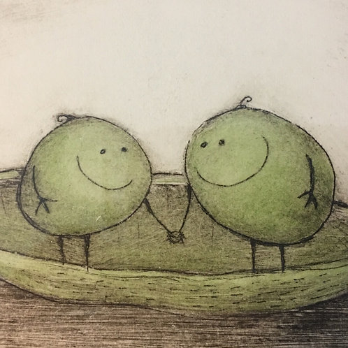 'The Two Peas'