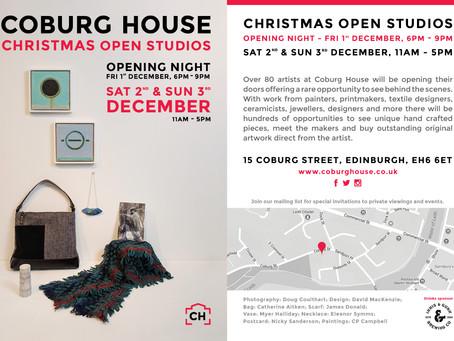 Coburg Christmas Open Studios!