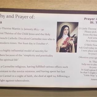 St Theresa Plaque.jpg