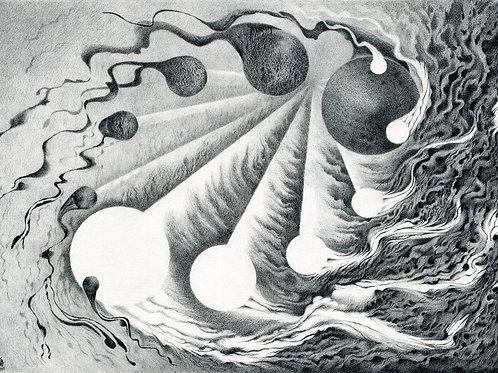 """As the Pendulum Swings"" - Open Edition Fine Art Print"