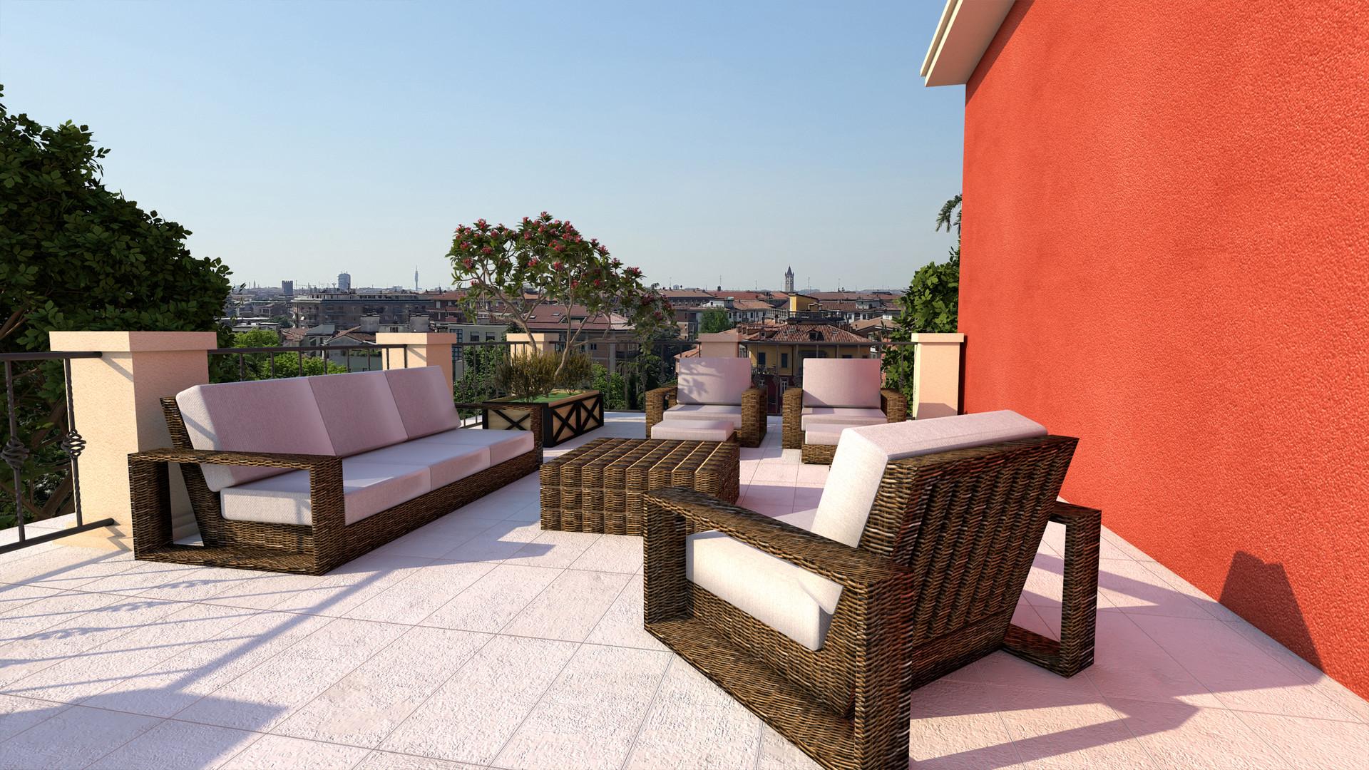 Grandi terrazze panoramiche