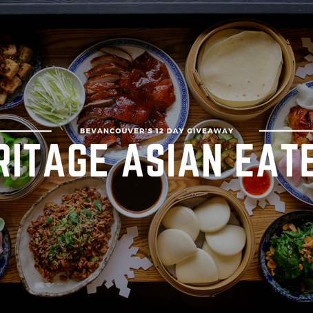 Win Heritage Asian Eatery's Holiday Feast for Four worth over $139! (Giveaway) | Day 10