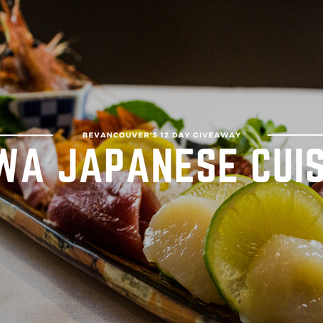 Win a $100 Gift Certificate to Yuwa Japanese Cuisine! (Giveaway) | Day 9