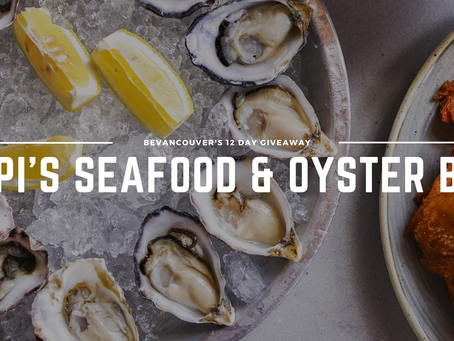 Win a $50 Gift Card to Papi's Seafood & Oyster Bar (Giveaway) | Day 2