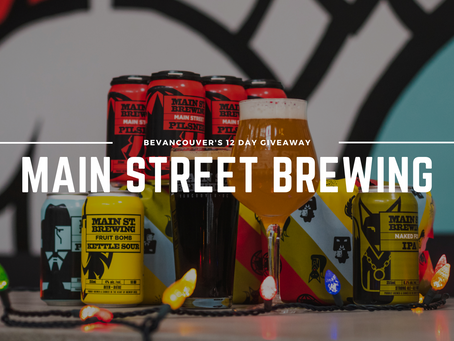 Win a Gift Card, Apparel, and a FREE Growler + Refill with Main Street Brewing! (Giveaway) | Day 8