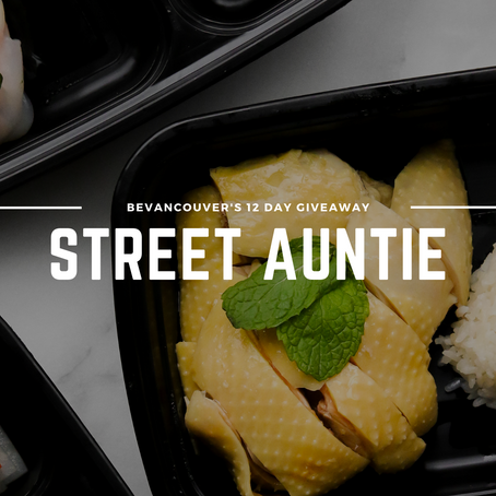 Win a Dinner Experience for Two to Street Auntie Aperitivo House (Giveaway) | Day 12