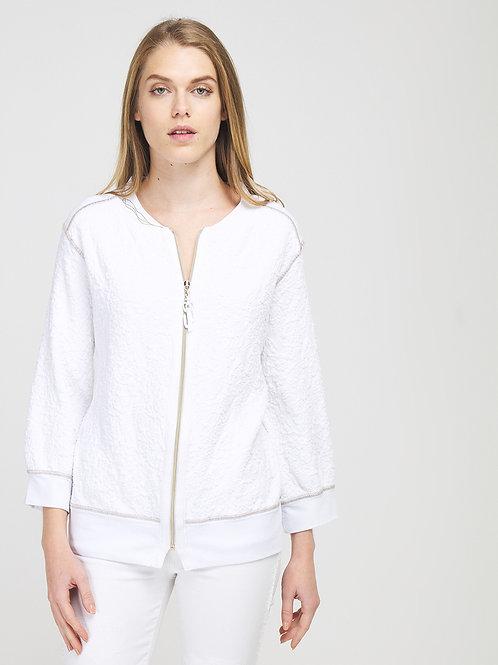 Veste zippée en jersey