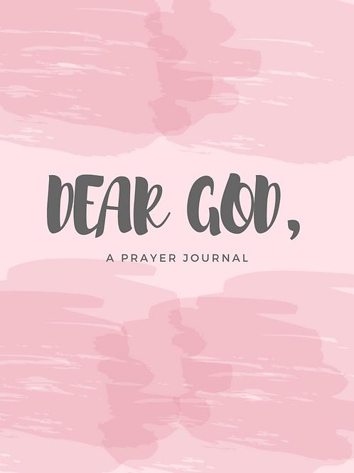 Dear God Prayer Journal