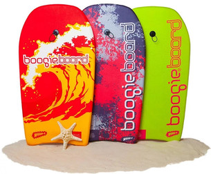 Boogie boarding is great fun and exercise!