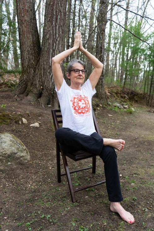 Susan Chair Pose Yoga