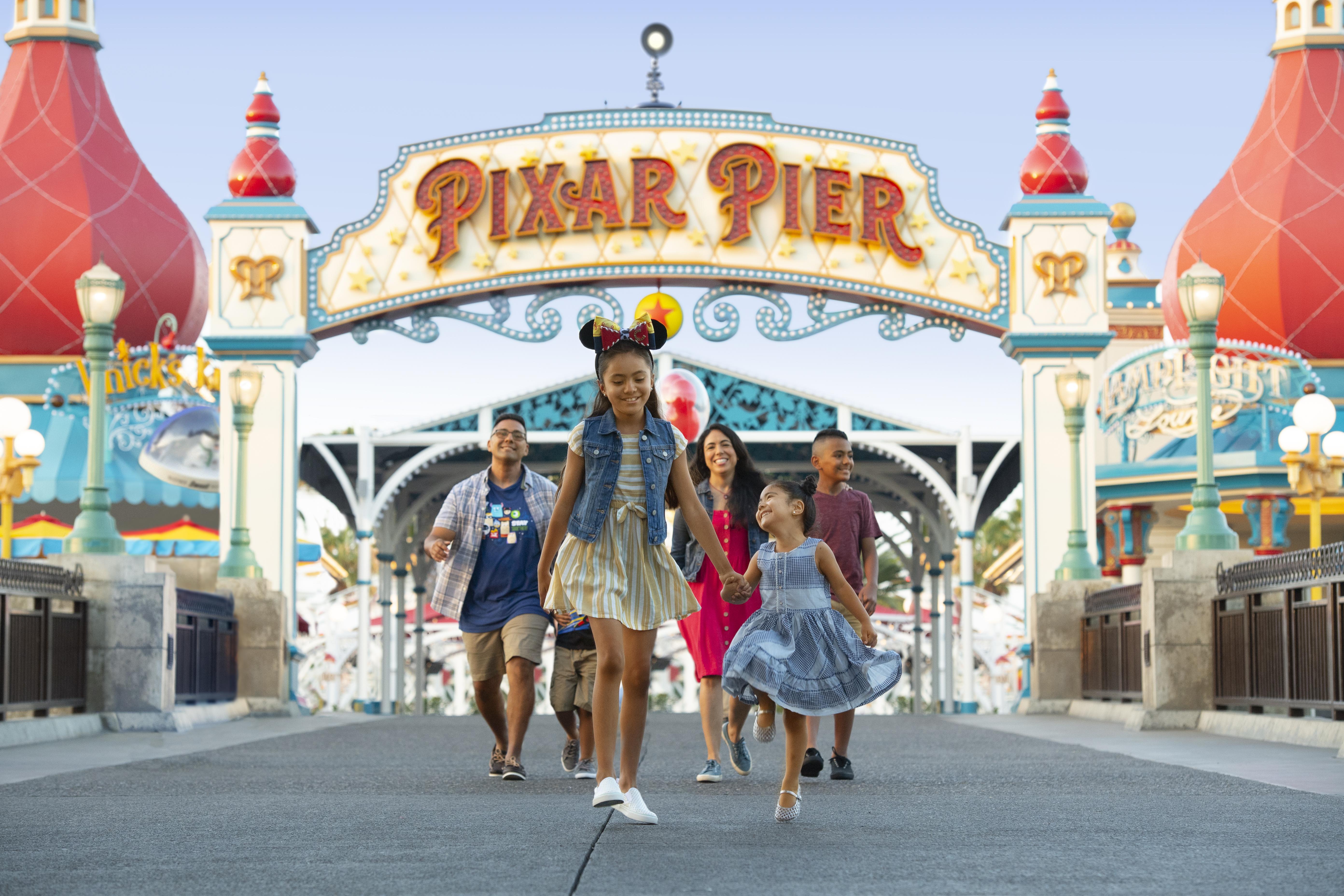 Pixar Pier Daytime Marquee