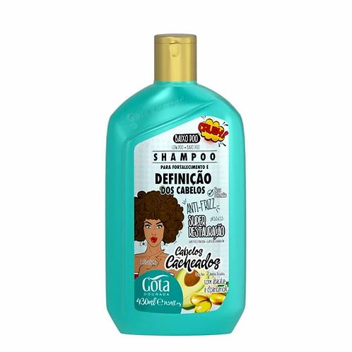 Gota Dourada Cabelos Cacheadas Shampoo 430ml - lindecosmetics.com