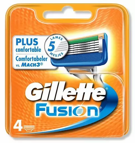 Gillette Fusion 4 PÇS