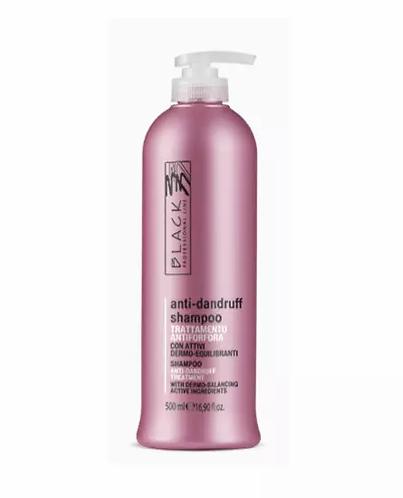 Black Professional Shampoo Anti-Caspa 500ml - lindecosmetics.com