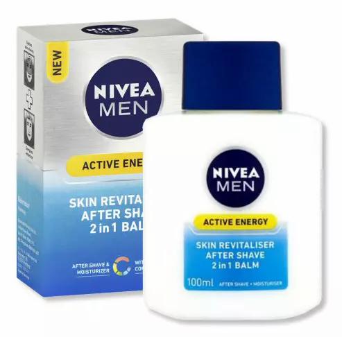 Nivea For Men Balsamo 2 Em 1 Energy 100ml