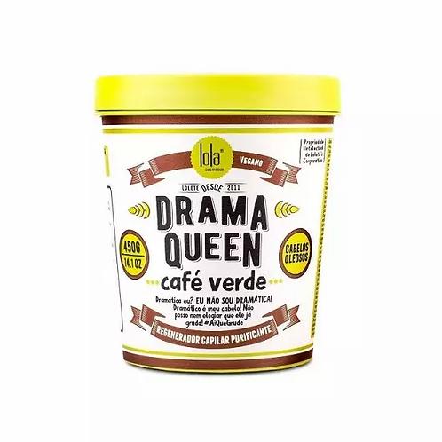 Lola Drama Queen Café Verde Cabelos Oleosos - Máscara 450g - lindecosmetics.com
