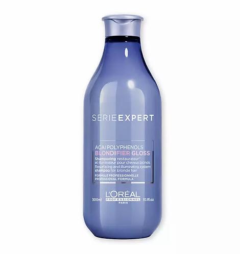 L'Oréal Serie Expert Blondifier Gloss Shampoo 300ml - lindecosmetics.com