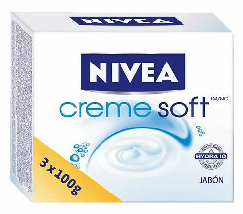 Nivea Creme Soft Sabonete 3x100g