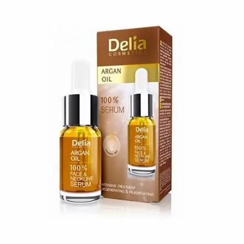 Delia Argan Care Sérum De Rosto E Pescoço Com Argan Oil 10ml - lindecosmetics.com