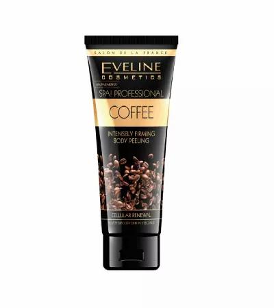 Eveline Spa Body Peeling Coffee 200ml - Esfoliante Corporal - lindecosmetics.com