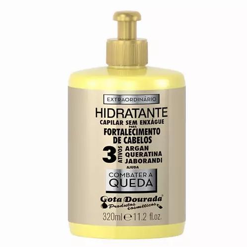 Gota Dourada Creme Pentear Fortalecimento Extraordinário 320ml - lindecosmetics.com