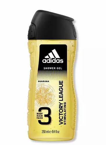 Adidas 3 Em 1 Victory League Gel de Banho 250ml