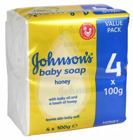 Johnson's Baby Soap 4x100g
