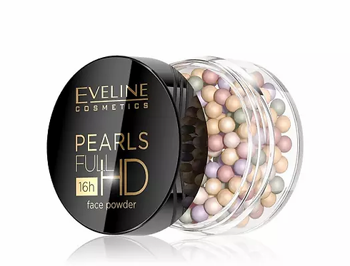 Eveline Pearls Full Hd Colour Powder Cc 15g - lindecosmetics.com