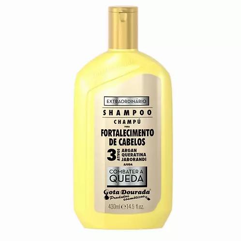 Gota Dourada Shampoo De Fortalecimento Extraordinário 430ml - lindecosmetics.com