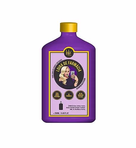 Lola Loira De Farmácia - Shampoo Matizador 250ml - lindecosmetics.com